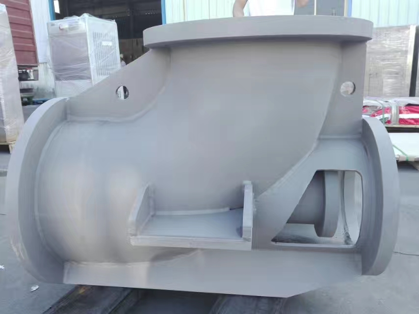 钛焊接轴流泵